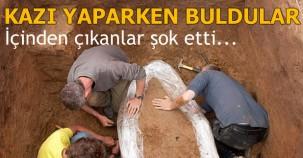 KAZI YAPARKEN BULDULAR İÇİNDEN ÇIKANLAR ŞOK ETTİ..!