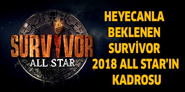 Heyecanla Beklenen Survivor 2018 All Star'ın Kadrosu
