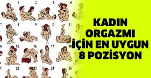 Kadın Orgazmı İçin En Uygun 8 Pozisyon...