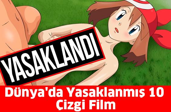 Dünya'da Yasaklanmış 10 Çizgi Film...
