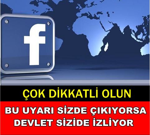 Sosyal Medya Devi Uyardı… Dikkat, Bu Uyarı Sizde Çıkıyorsa!