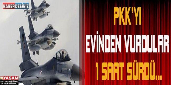 PKK'YI EVİNDE VURDULAR!