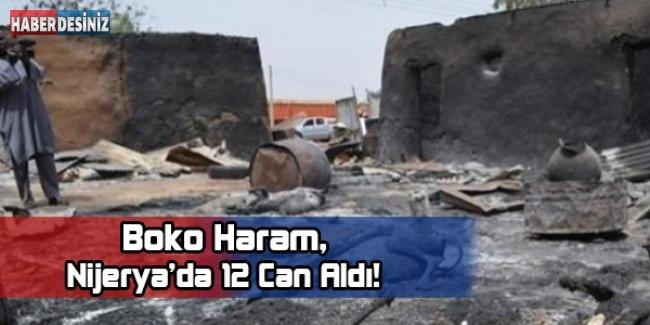 Boko Haram Nijeryada 12 Can Aldı