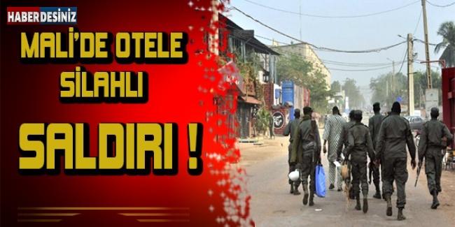 Mali'de otele silahlı saldırı !