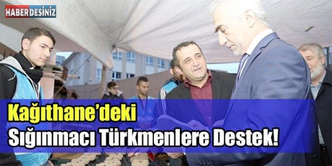 Kağıthane'deki Sığınmacı Türkmenlere Destek