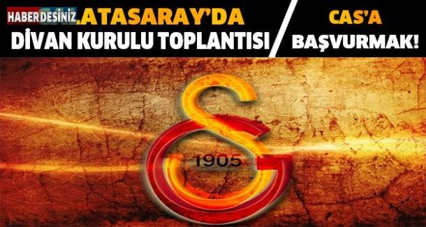 Galatasaray'da son çare CAS'a başvurmak