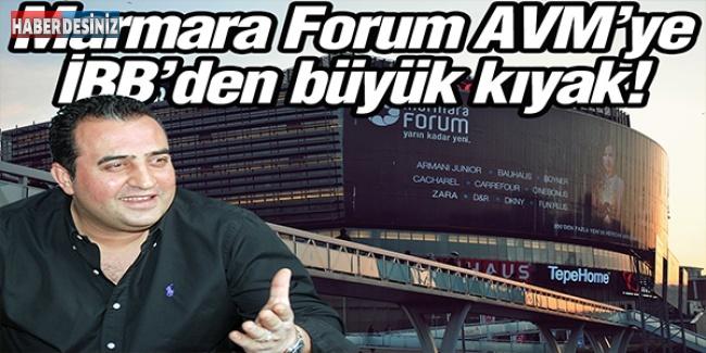 Marmara Forum AVM'ye İBB'den büyük kıyak!