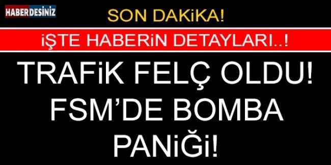 FSM Köprüsü'nde bomba bulundu..!