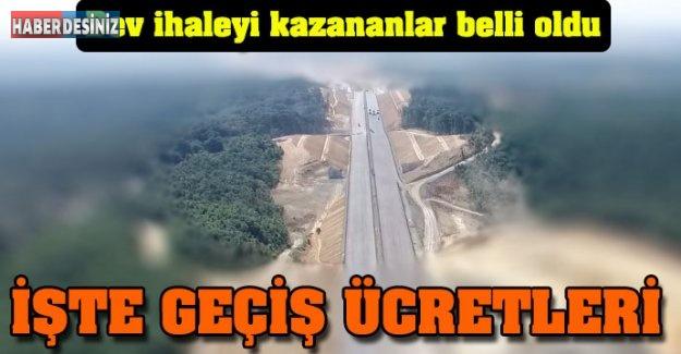 Kuzey Marmara Otoyolu ihalesini kazananlar belli oldu