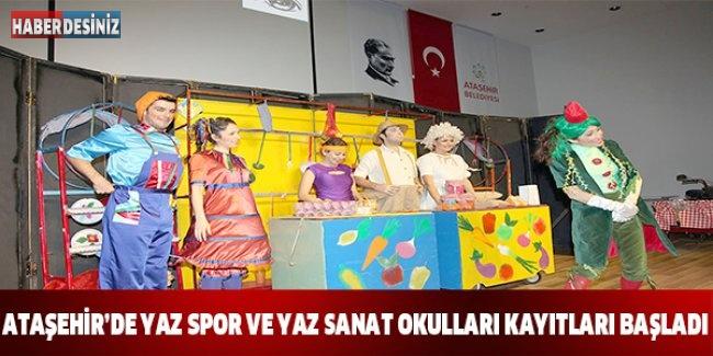 Ataşehir'de Yaz Spor ve Yaz Sanat Okulları kayıtları başladı