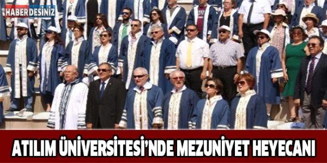 Atılım Üniversitesi'nde Mezuniyet Heyecanı