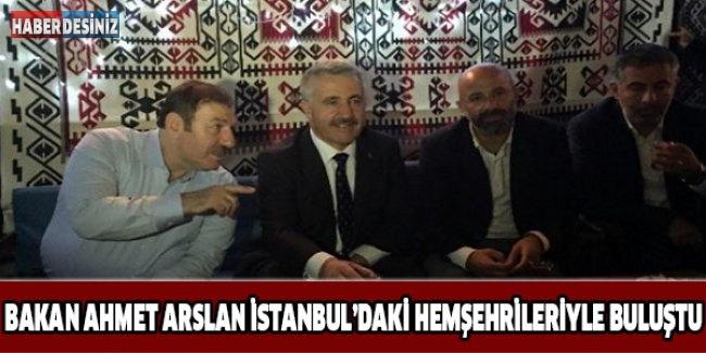 Bakan Ahmet Arslan İstanbul'daki Hemşehrileriyle Buluştu