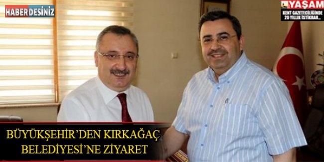 Büyükşehir'den Kırkağaç Belediyesi'ne Ziyaret