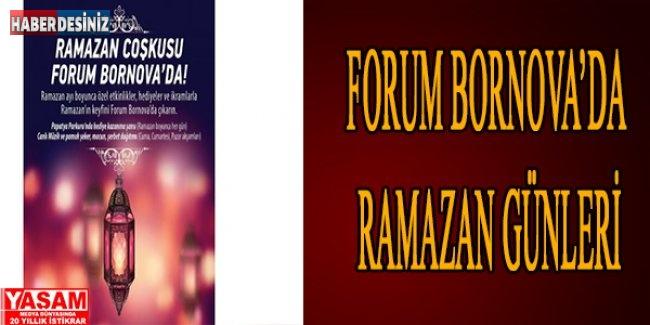 Forum Bornova'da Ramazan Günleri