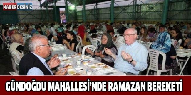 Gündoğdu Mahallesi'nde Ramazan Bereketi