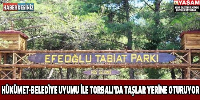 Hükümet-belediye Uyumu İle Torbalı'da Taşlar Yerine Oturuyor