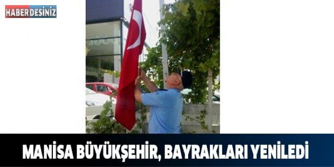 Manisa Büyükşehir, Bayrakları Yeniledi