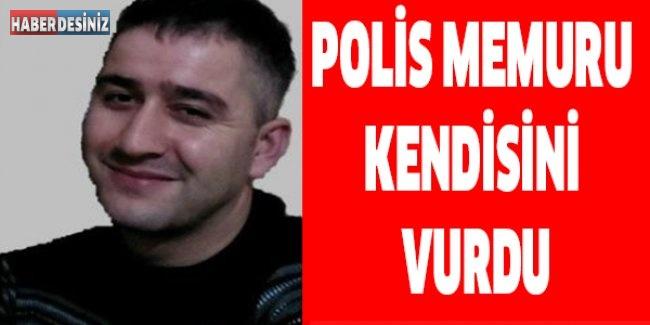Polis memuru kendisini vurdu