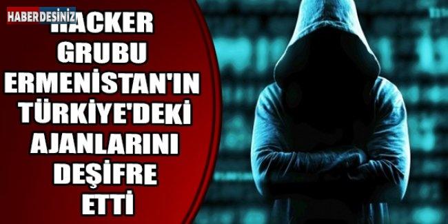 Hacker grubu Ermenistan'ın Türkiye'deki ajanlarını deşifre etti