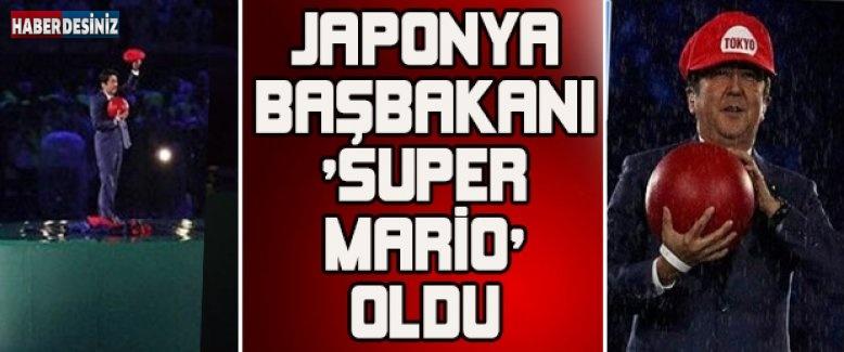 Japonya Başbakanı 'Super Mario' oldu