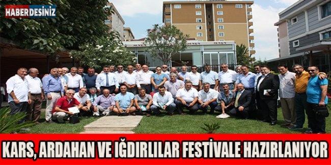 Kars, Ardahan Ve Iğdırlılar festivale hazırlanıyor