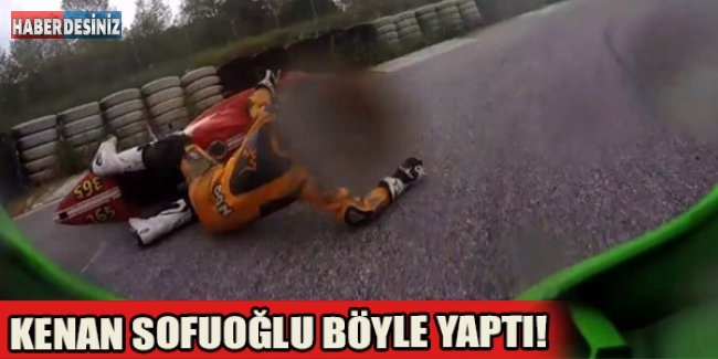 Kenan Sofuoğlu böyle yaptı!
