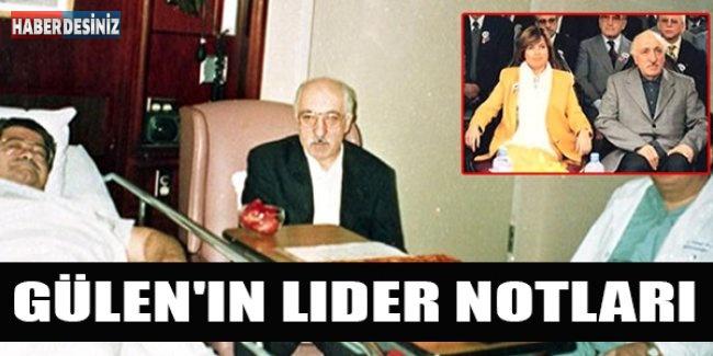 Gülen'in Lider Notları: