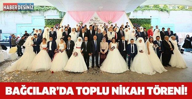 BAĞCILAR'DA TOPLU NİKAH TÖRENİ!