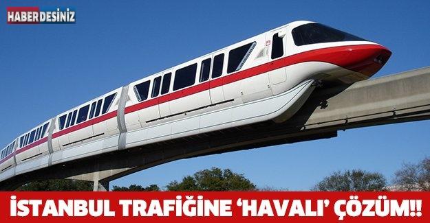 İSTANBUL TRAFİĞİNE 'HAVALI' ÇÖZÜM!!