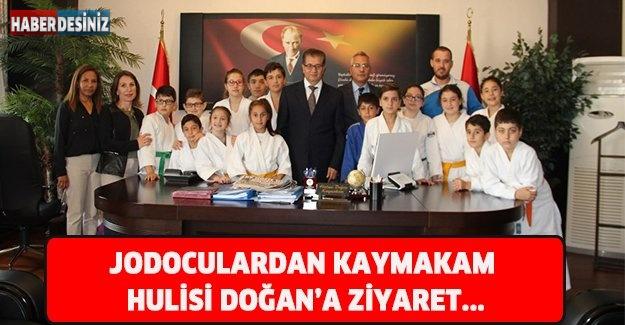 JODOCULARDAN KAYMAKAM HULİSİ DOĞAN'A ZİYARET...