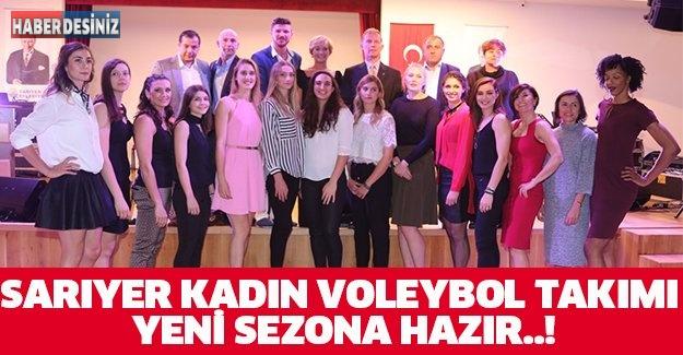 SARIYER KADIN VOLEYBOL TAKIMI YENİ SEZONA HAZIR..!