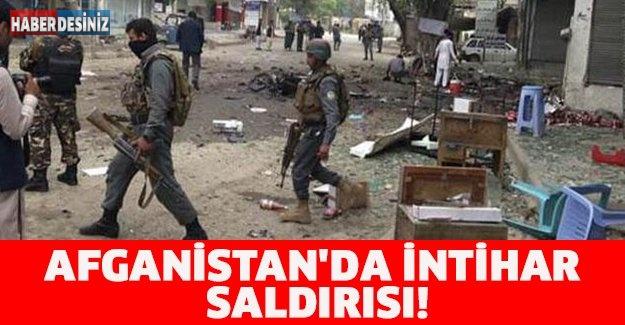 AFGANİSTAN'DA İNTİHAR SALDIRISI!