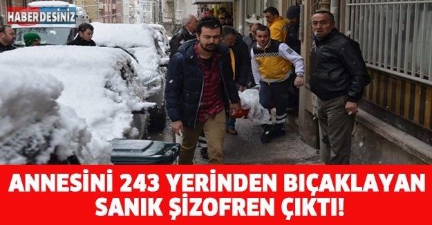ANNESİNİ 243 YERİNDEN BIÇAKLAYAN SANIK ŞİZOFREN ÇIKTI!