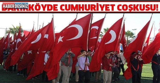 BAKIRKÖYDE CUMHURİYET COŞKUSU!