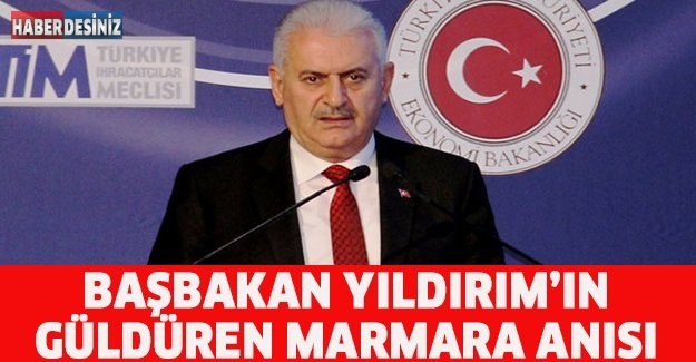 Başbakan Yıldırım'ın güldüren Marmaray anısı
