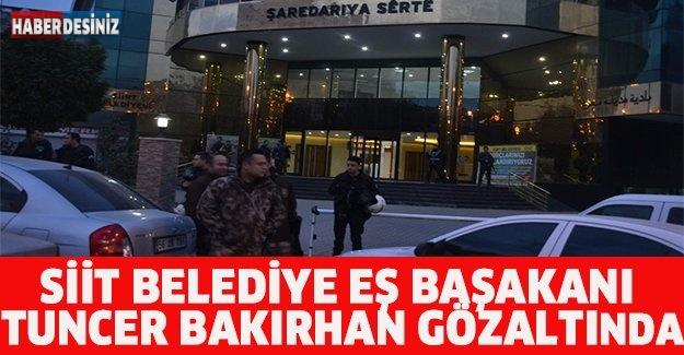 Siirt Belediye Eş Başkanı Tuncer Bakırhan gözaltında