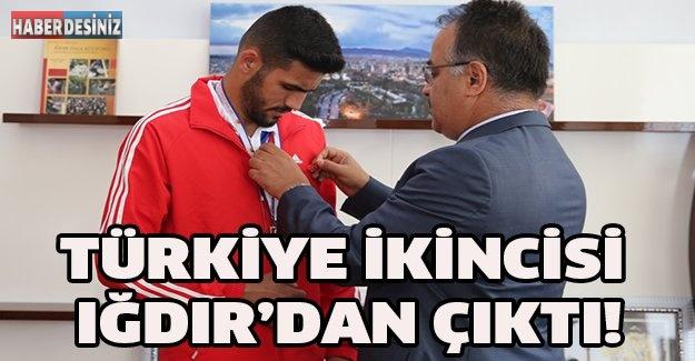 TÜRKİYE İKİNCİSİ IĞDIR'DAN ÇIKTI!
