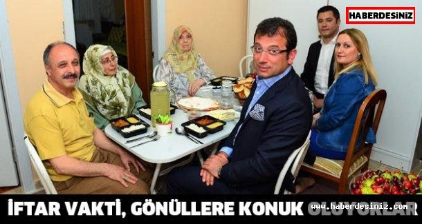 İFTAR VAKTİ, GÖNÜLLERE KONUK OLUYORLAR