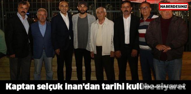 KAPTAN'DAN TARİHİ  KULÜBE ZİYARET