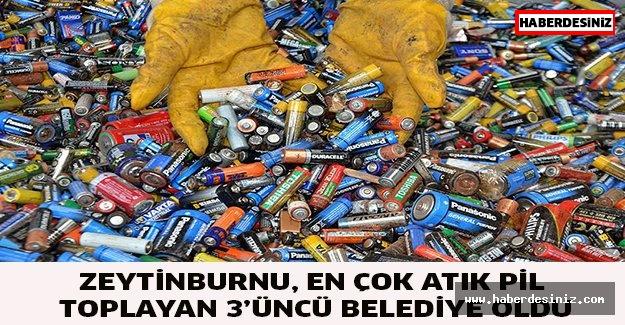 Zeytinburnu, En Çok Atık Pil Toplayan 3'üncü Belediye Oldu