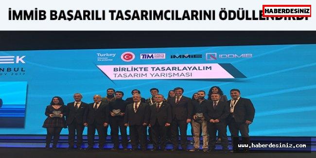 İMMİB başarılı tasarımcılarını ödüllendirdi