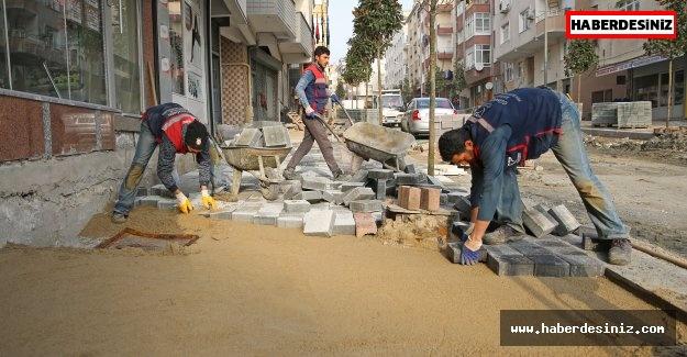 Güngören'de sokaklar yenileniyor