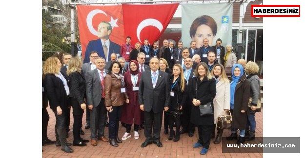 İYİ Parti'nin Sarıyer İlçe Başkanı Dr. Cengiz Tamer