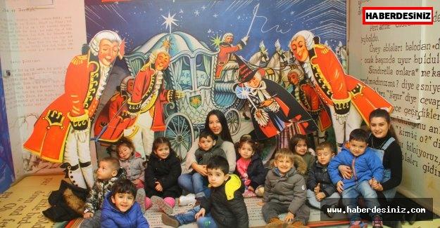 Masal Müzesi çocukların akınına uğradı