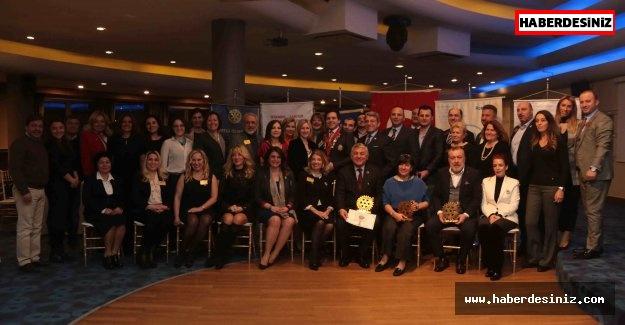 Sarıyer Belediye Başkanına Rotarylerden ödül