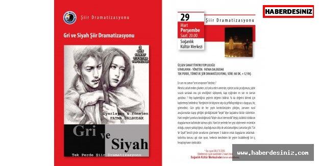 'GRİ VE SİYAH' TÜRKÜ VE ŞİİRLER 29 MART'TA KARTALLILARLA BULUŞACAK