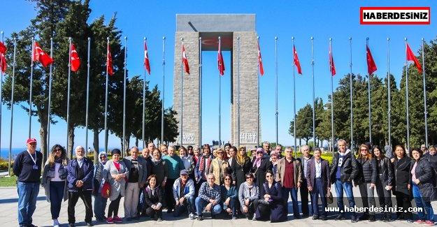 Maltepeliler Çanakkale'de tarihe tanıklık etti