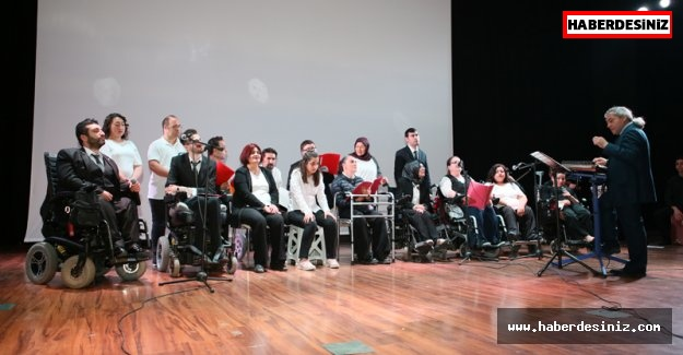 Engelli Gençlerden Muhteşem Konser