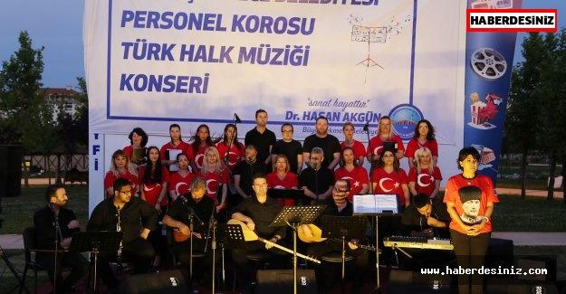 Büyükçekmece Belediye personelinden muhteşem konser