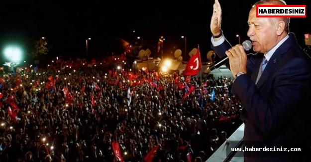 Yeni Sistemin İlk Cumhurbaşkanı Erdoğan